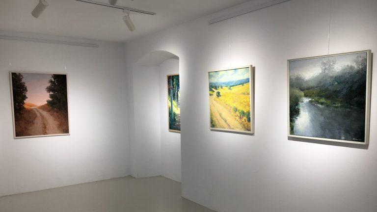 """Inauguración de la exposición """"Sentimientos"""" de Manuel Lozano en la Galería Proyecto 5."""