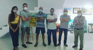 Todo un éxito la primera exhibición de pintura rápida de Proyecto 5