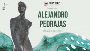 Exposición escultórica de Alejandro Pedrajas en Galería Proyecto 5